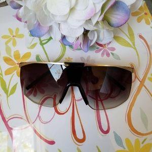 Mesh Wire Round Sunglasses Women Brand new Metal F